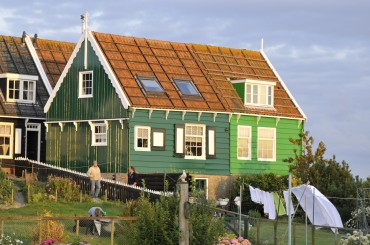 Wooden house wins in the Netherlands