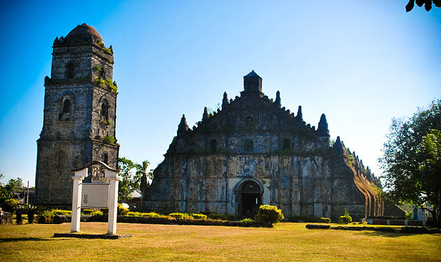 Façade of Paoay Church