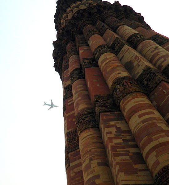 One of the most popular monuments in contest: Qutub Minar in Delhi, India. Photo: Ehsanahmed000, CC BY-SA