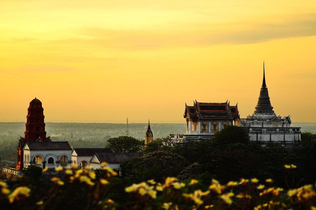 Phra Nakhon Khiri Historical Park. Photo: Kritmongkholrat Arunsuriya, CC BY-SA
