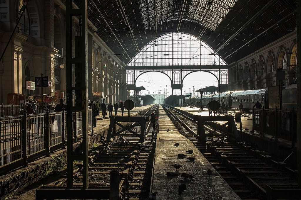 7th prize: Budapest Keleti Railway Station. Photo: Németh Tibor, CC BY-SA