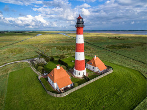 First place 2015: Westerheversand Lighthouse, Germany (Marco Leiter)
