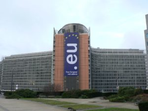 Finally on Wikipedia: the European Commission 'Berlaymont' building. Photo by 'Nieuw'