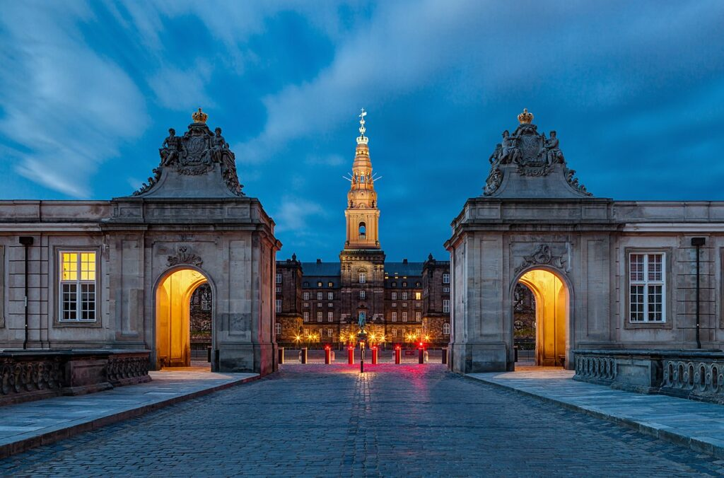 13-е місце: Палац Крістіансборґ, Копенгаген, Данія.
