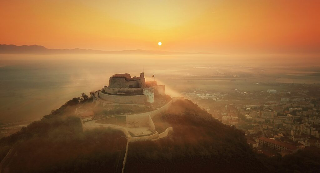 10-е місце: Фортеця Дева, Румунія.