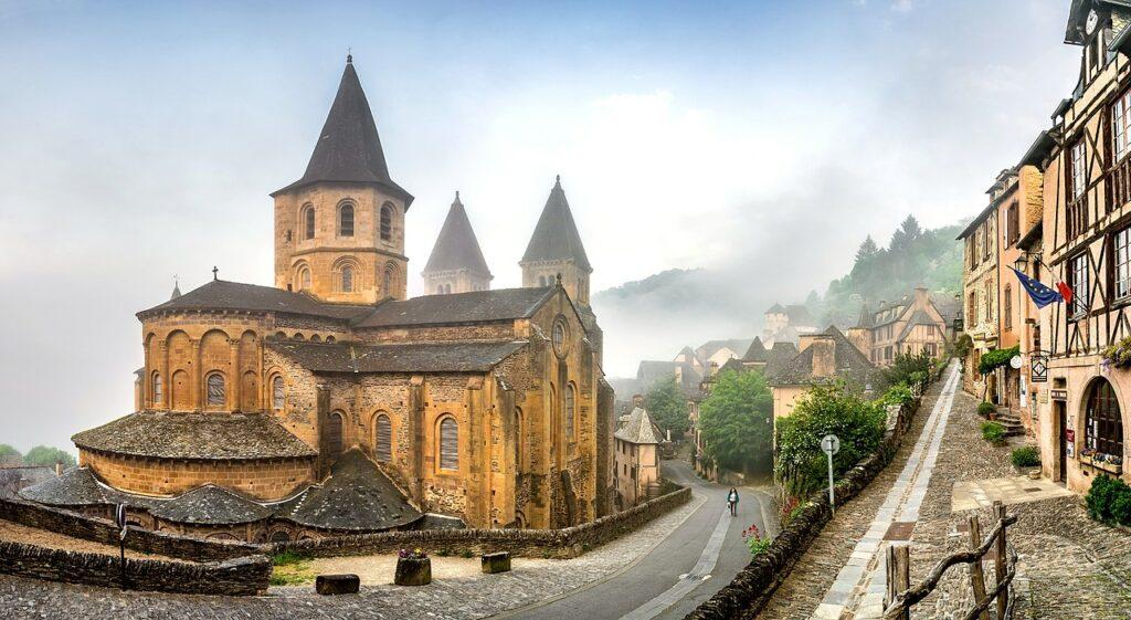 12-е місце: Абатська церква святої Віри, Конк, департамент Аверон, Франція.