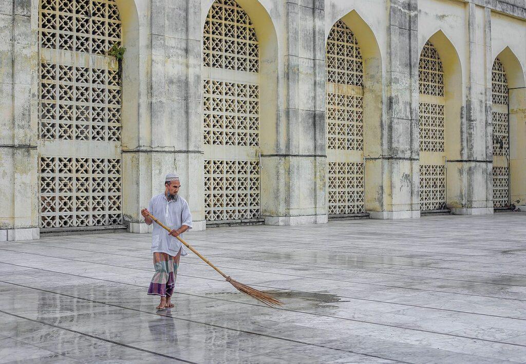 5-е місце: Національна мечеть Байтул Мукаррам, Дакка, Бангладеш.