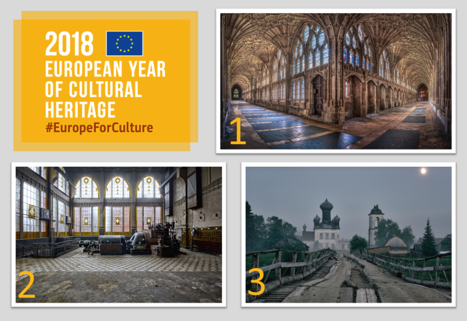 Winners of the Special Awards for European Year of Cultural Heritage